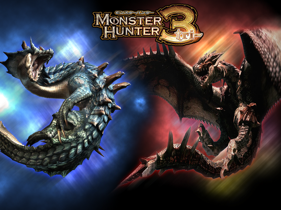 wallpaper monster. Games/wallpaper monster hunter