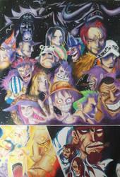One Piece - Doflamingo's Speech by pfirsichkopf