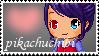 You Support Pikachuchibi Stamp