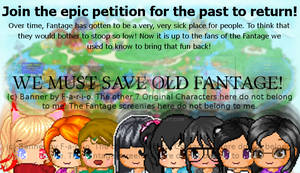 STILL SAVING OLD FANTAGE AFTER A YEAR~