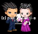 Fantage - Happy Valentine's Day, Phoenix and Iris! by F-a-r-i-o