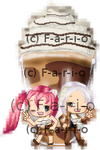 Syo and Angie Go Bonkers for Nutella at Carvel ~