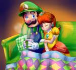 (AT) Luigi's Christmas by Fario-P