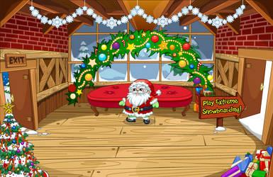 (F2U) Fantage Santa's Cabin Background by Fario-P