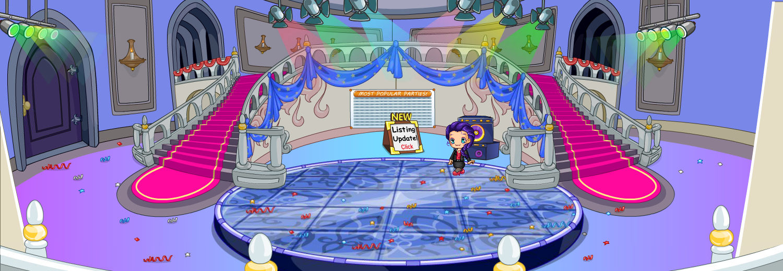 (F2U) Fantage Grand Winter Ball Castle Background