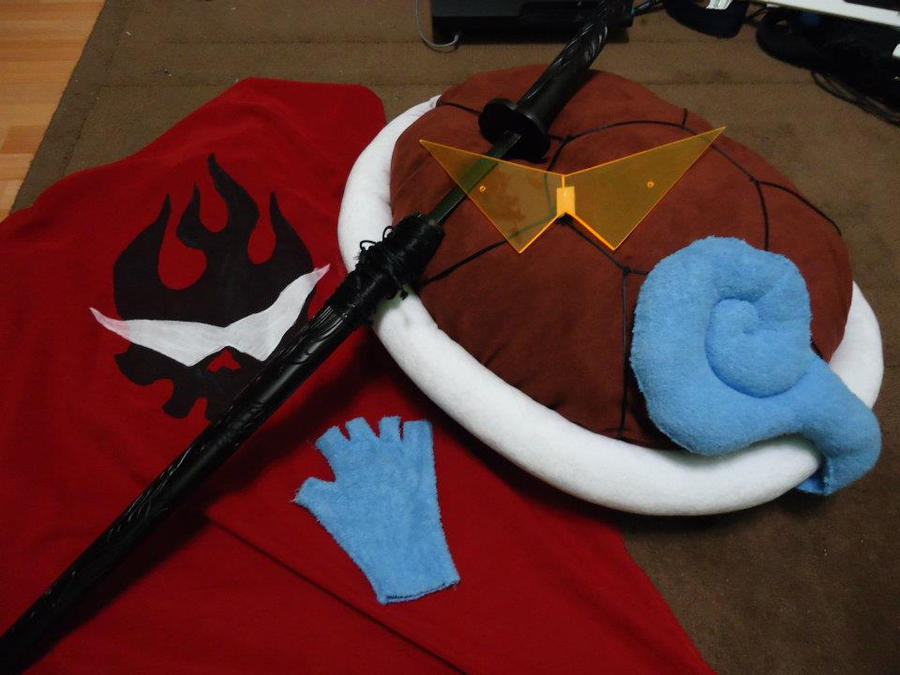 Squirtle x Kamina Cosplay by Tinydevil421 on DeviantArt