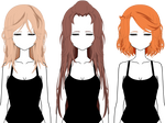 [Kisekae] Hairstyles 2 (+Export)