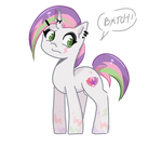 Punk Sweetie Belle by whiskyice