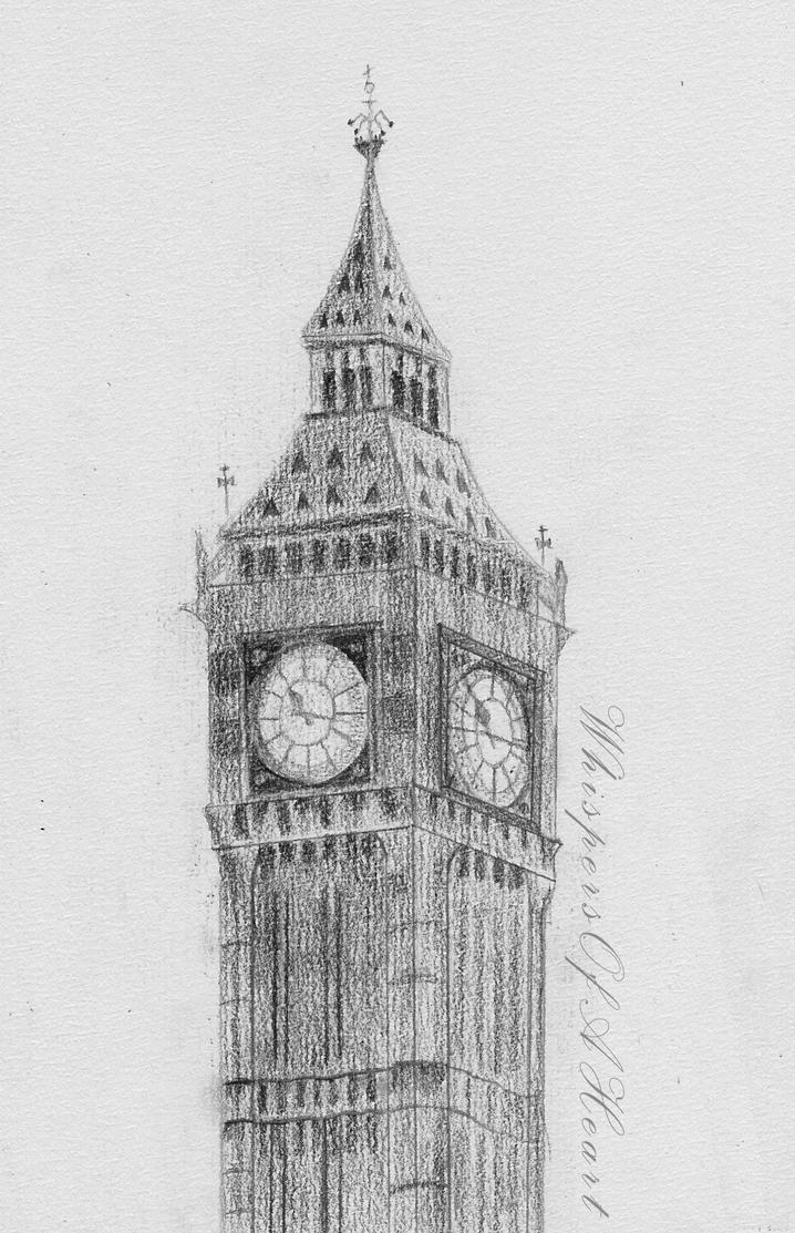 big ben wallpaper drawing - photo #6