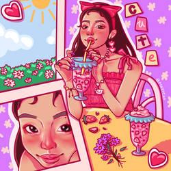 JENNIE milkshake by p1nkycat