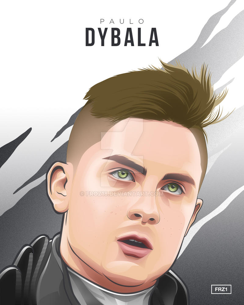 Paulo Dybala by FROZ18