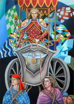 the tarot - The Chariot 7