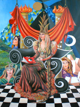 the tarot - the priestess 2