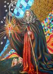 the tarot - the hermit 9