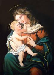 Madonne - Madonna Terza Versione by annalobello