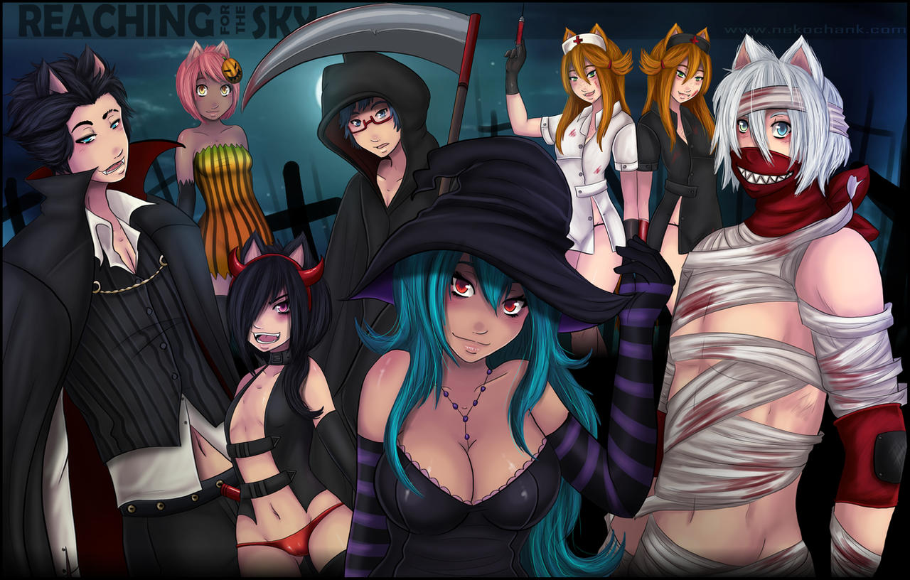 RFTS - Halloween 2012 by NeKoChAnK