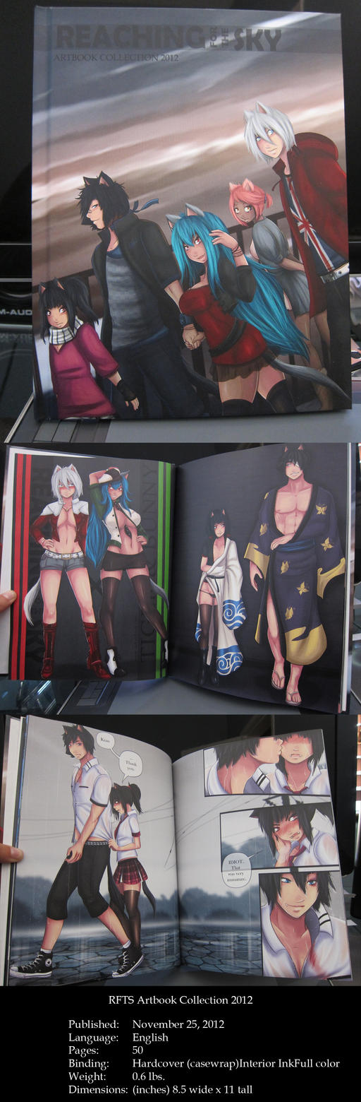 RFTS Artbook Collection 2012 by NeKoChAnK