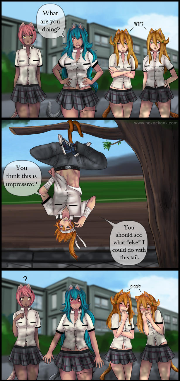 Cain Comic-Strip Commission by NeKoChAnK