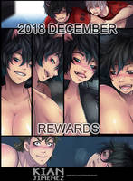DECEMBER 2018 Patreon Summary by KianJimenez