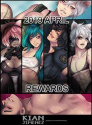 April Patreon Summary by KianJimenez