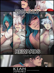 July Patreon Summary