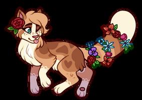 Flowery Cat OTA // Closed by roseshards