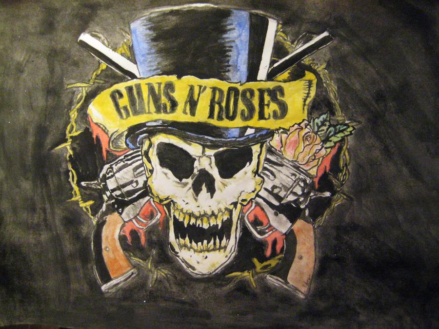 Guns n' roses by Nekochan28