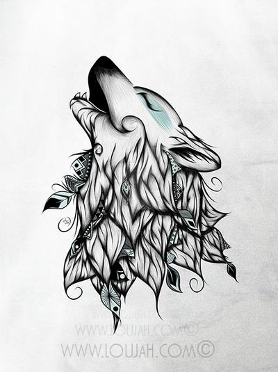 The Wolf By Loujah On Deviantart