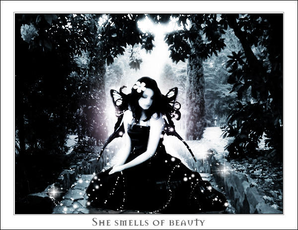 She smells of beauty by trappedillusions