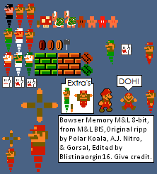 Bowser Memory ML 8-bit by Blistinaorgin