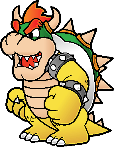 New Paper Bowser by Blistinaorgin