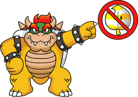 Bowser has enough! by Blistinaorgin