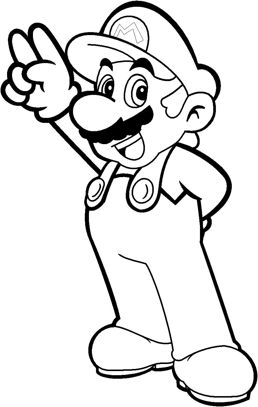 Mario coloring by blistinaorgin on deviantart for Mario and luigi and yoshi coloring pages
