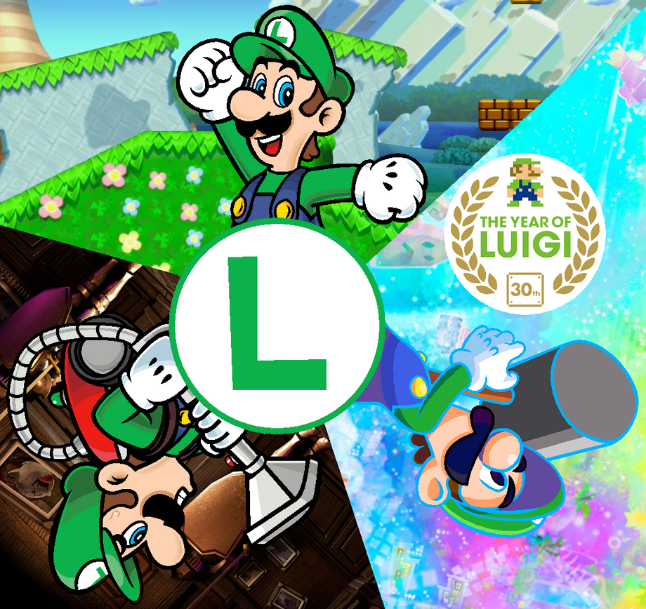 Year of Luigi by Blistinaorgin