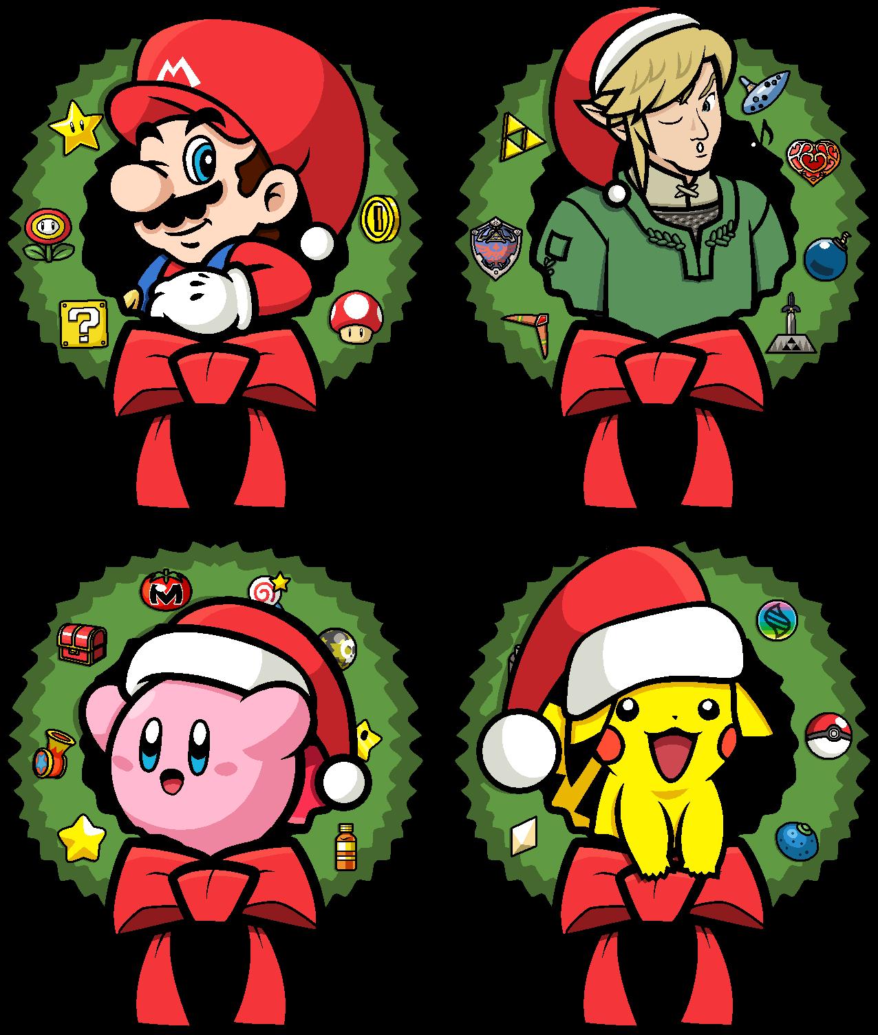 Super christmas roster by Blistinaorgin on DeviantArt