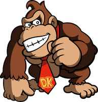 Donkey Kong by Blistinaorgin