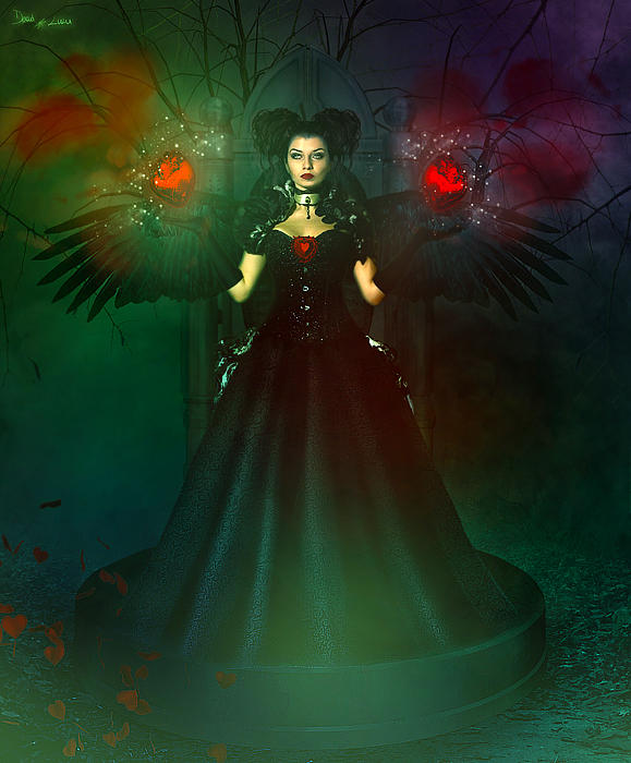Queen of Hearts by LaVolpeCimina