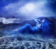 Ghost Mermaid by LaVolpeCimina