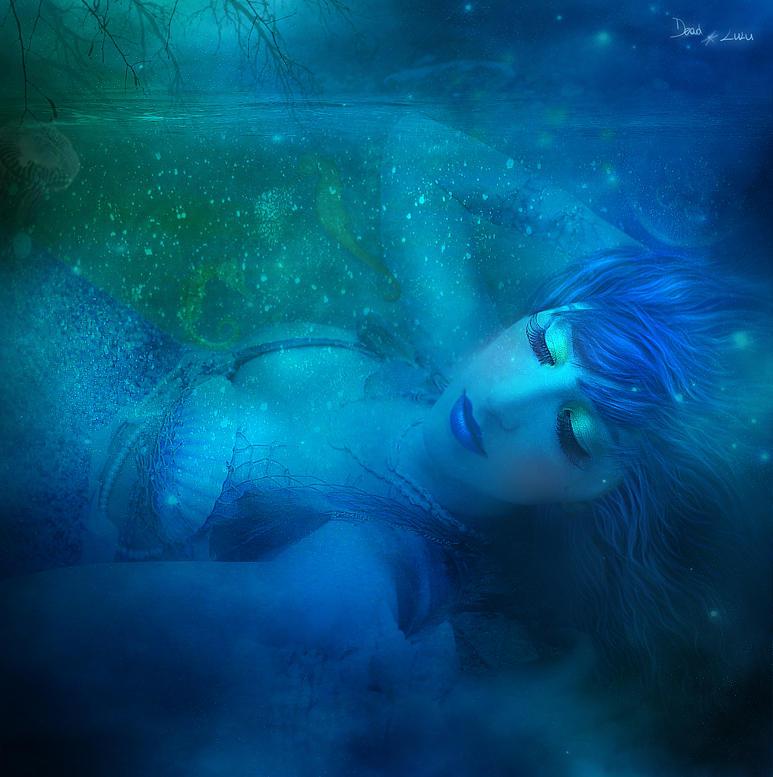 Mermaid's Bliss by LaVolpeCimina