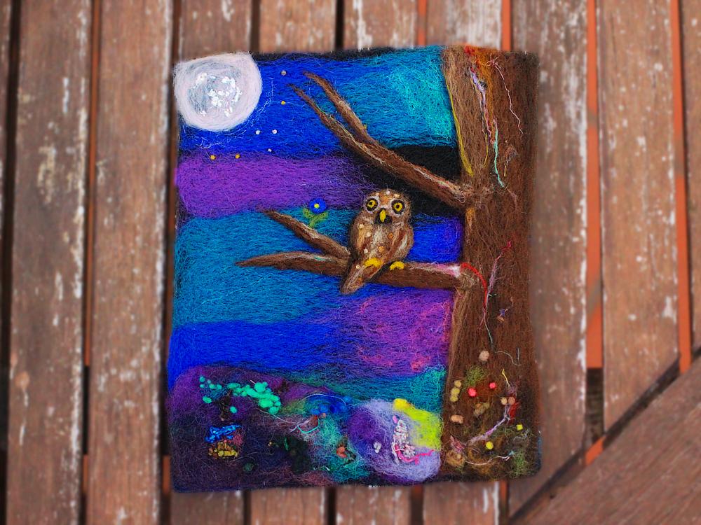 Moonlight Owl by DeadLulu