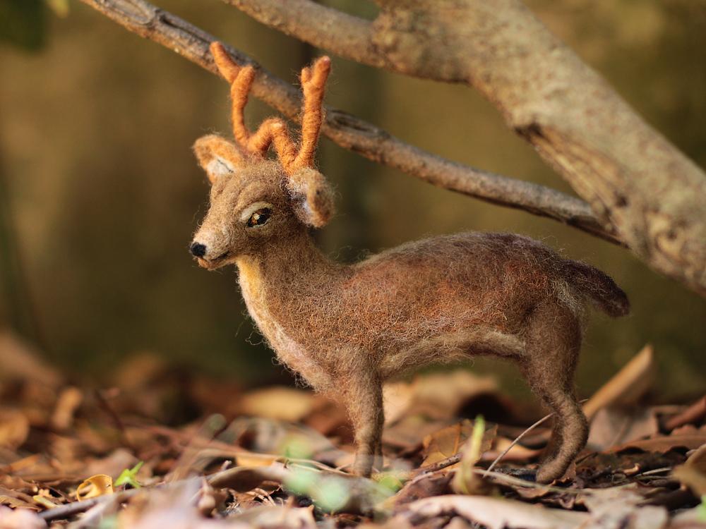 Poseable Deer Sculpture by DeadLulu