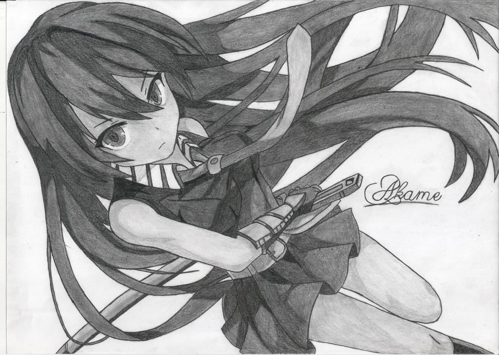 Akame By LuckiixStar On DeviantArt