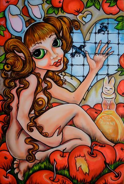 Bunny Love by oliecannoligriffard