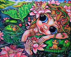 Frog to kiss by oliecannoligriffard
