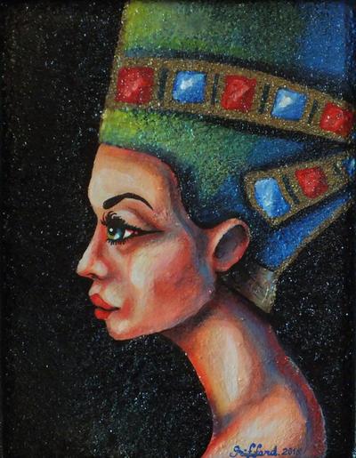 Nefertiti by oliecannoligriffard