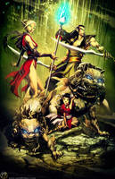 Tenryuu and Family by Guildhelper