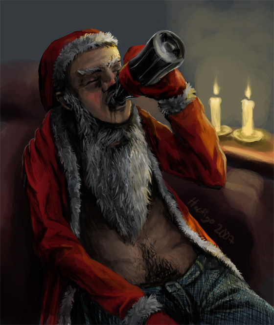 Santa Claus Suck My Balls 7