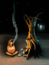 Lullaby for a Dragon by hectigo