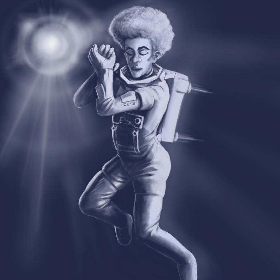 Afronaut by hectigo