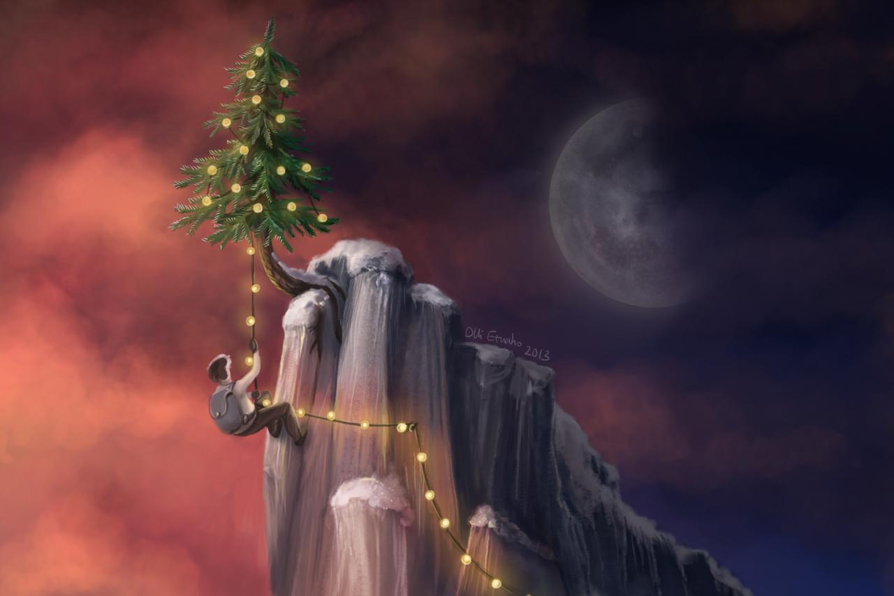 Tree At The Top by hectigo